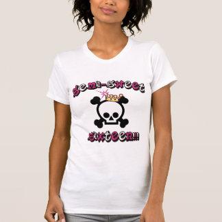 Camiseta Semi t-shirt do doce dezesseis
