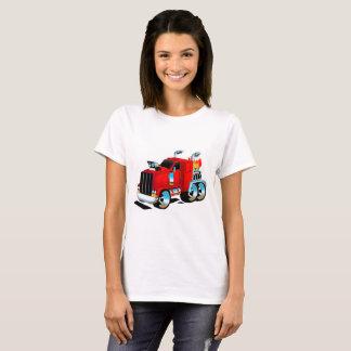 Camiseta Semi Tshirt do caminhão para mulheres