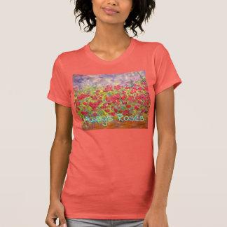 Camiseta Sempre rosas