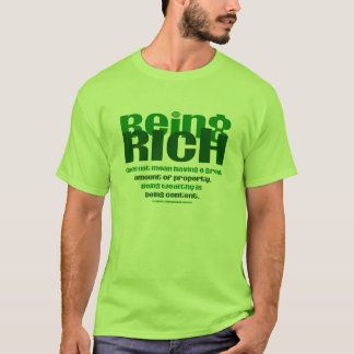 Camiseta Sendo rico