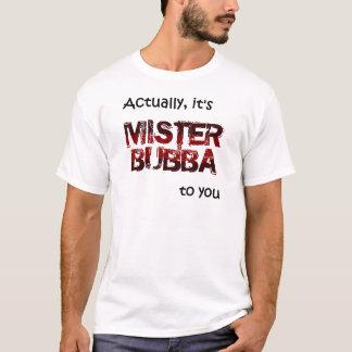 Camiseta SENHOR Bubba