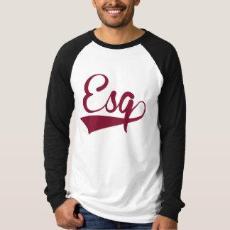 Camiseta Senhor marrom e branco Ragland por muito tempo