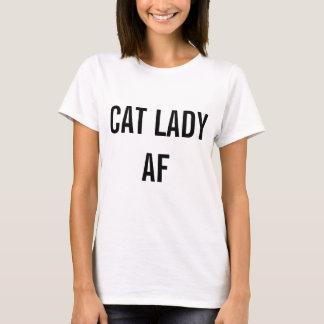 Camiseta Senhora AF do gato