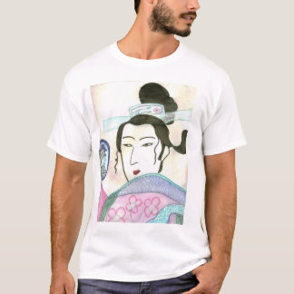 Camiseta Senhora asiática