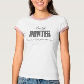 Camiseta Senhora CAÇADOR