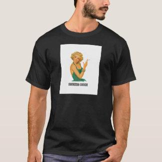 Camiseta senhora da tosse dos fumadores