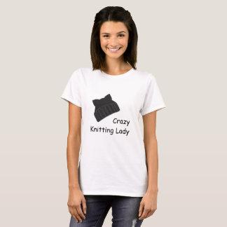 Camiseta Senhora de confecção de malhas louca T-shirt