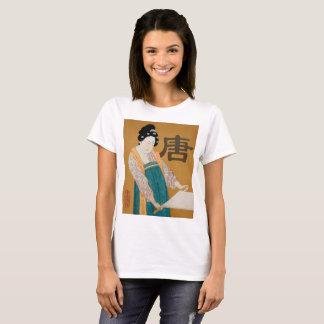 Camiseta Senhora de corte t-shirt da dinastia de China Tang