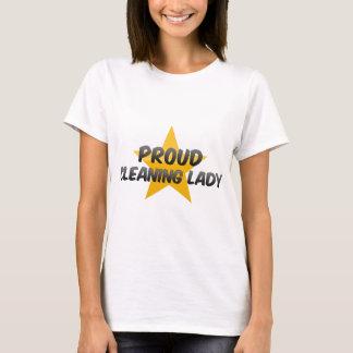 Camiseta Senhora de limpeza orgulhosa