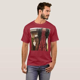 Camiseta Senhora decapitado feliz do manequim do Dia das