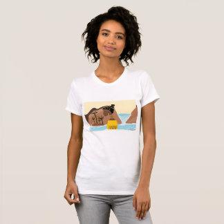 Camiseta Senhora do africano da cachoeira