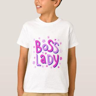 Camiseta Senhora do chefe