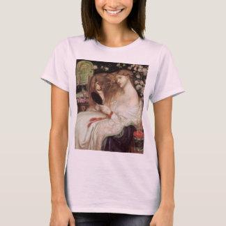 Camiseta Senhora Lilith por Rossetti, Victorian Portait do