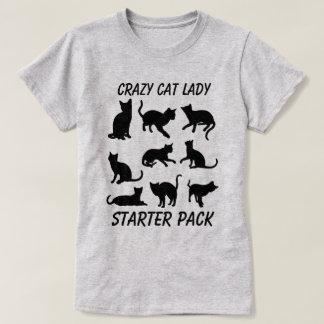"""Camiseta """"Senhora louca Acionador de partida Embalagem do"""