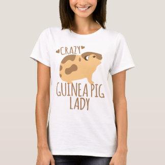 Camiseta senhora louca da cobaia