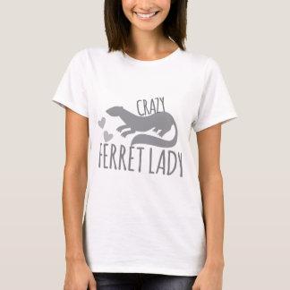 Camiseta senhora louca da doninha