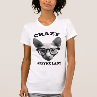 Camiseta Senhora louca de Sphynx