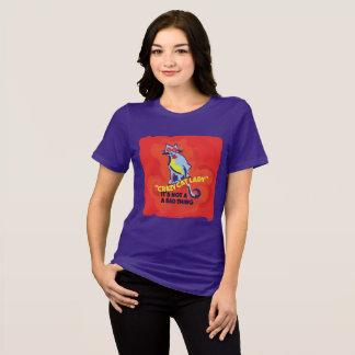 Camiseta Senhora louca três do gato