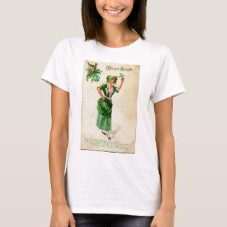 Camiseta Senhora original do dia de patrick de santo no