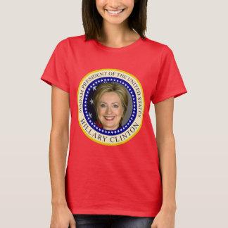 Camiseta Senhora presidente os Estados Unidos Hillary