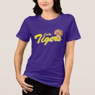 Camiseta Senhora Tigre Jérsei T-shirt
