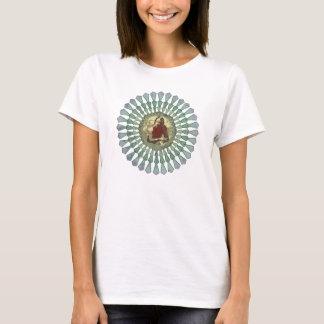 Camiseta Senhoras da mandala de Randy Castillo cabidas