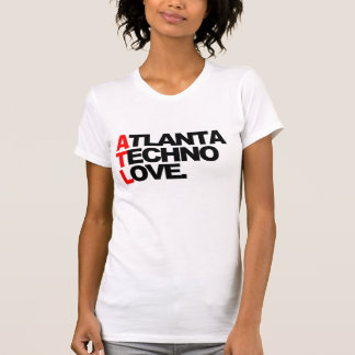Camiseta Senhoras do amor de Atlanta Techno (brancas)