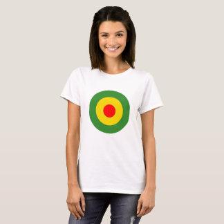 Camiseta Senhoras do rundel da reggae brancas