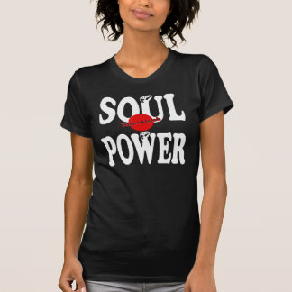 Camiseta Senhoras exclusivas PPR T do poder da alma de