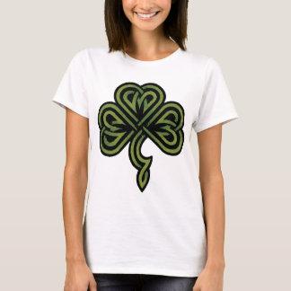 Camiseta Senhoras irlandesas do trevo