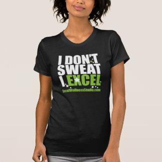 Camiseta Senhoras T do estúdio do bem-estar de Excel