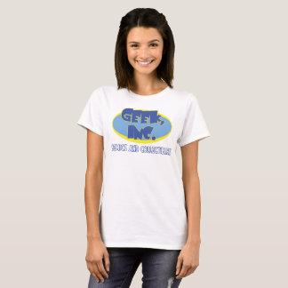 Camiseta Senhoras t-shirt da loja de Geek, Inc.