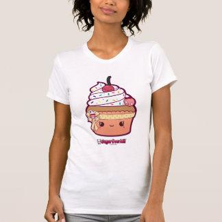 Camiseta Senhorita Baunilha Kawaii Cupcake