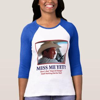 Camiseta Senhorita Me Ainda George Bush