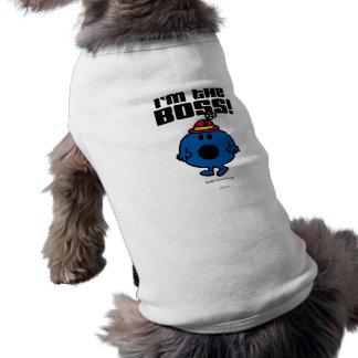 Camiseta Senhorita pequena Bossy | eu sou o chefe