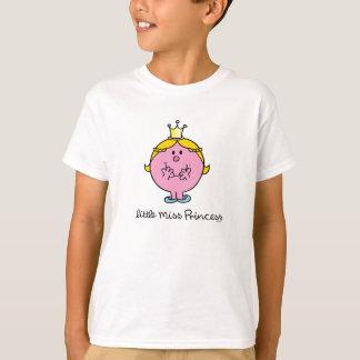 Camiseta Senhorita pequena Giggling princesa
