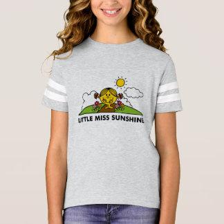 Camiseta Senhorita pequena Luz do sol | de volta à natureza