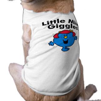 Camiseta Senhorita pequena pequena Riso Gosto Riso da