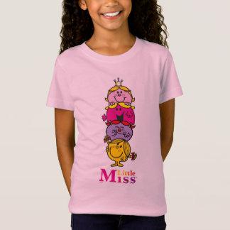 Camiseta Senhorita pequena pequena Standing Alto da