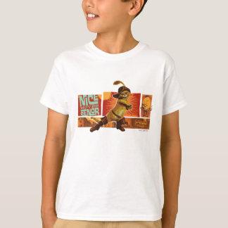 Camiseta Senor agradável dos movimentos