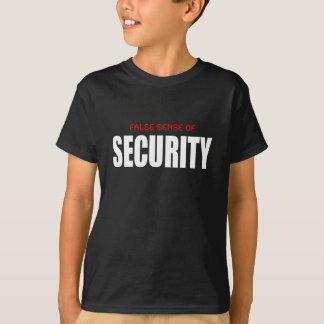 Camiseta Sensação de segurança falsa