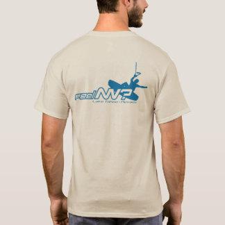 Camiseta sensação nanovolt? (TM) Wakeboarder