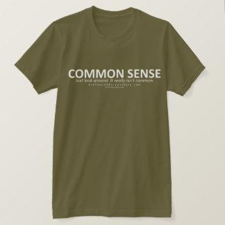 Camiseta Senso comum (para a BG escura)