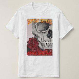Camiseta septime severe-skeleton and roses