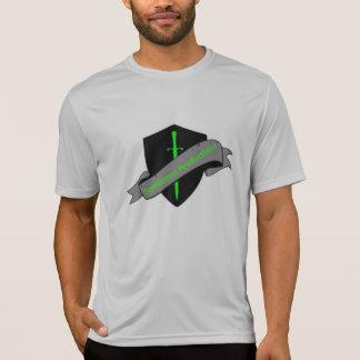 Camiseta Seque o t-shirt apto do logotipo