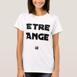 Camiseta SER ANJO - Jogos de palavras - François Cidade