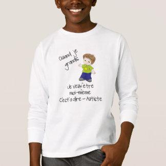 Camiseta Ser autista