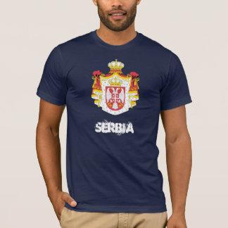 Camiseta Serbia com brasão