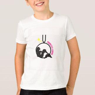 Camiseta Sereia aérea na aro