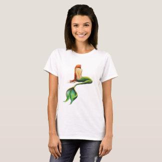 Camiseta Sereia de relaxamento